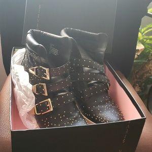 Steve Madden wedge sneakers in original box